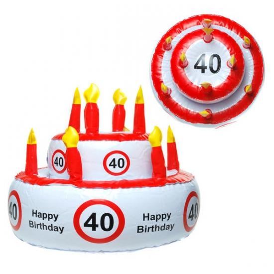 Opblaasbare Happy Birthday Taart Hoed Trapauto shop kopen
