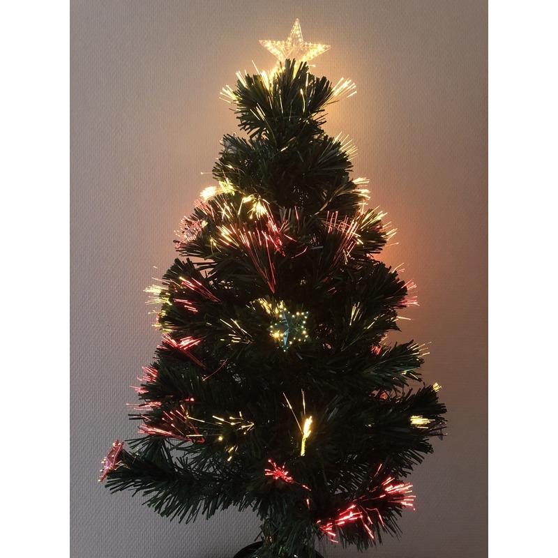 Kunst Kerstboom Met Versiering 60 Cm Bellatio in de aanbieding kopen