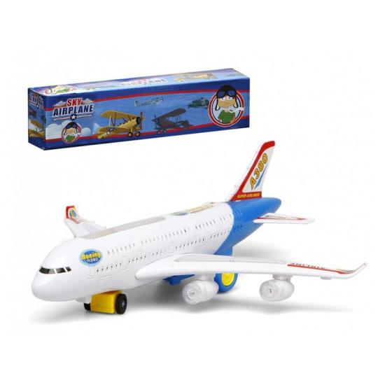 Witte Speelgoed Vliegtuigen Met Licht En Geluid Trapauto shop kopen