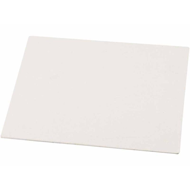 10x Canvas schilderdoek-paneel dun 15 x 21 cm