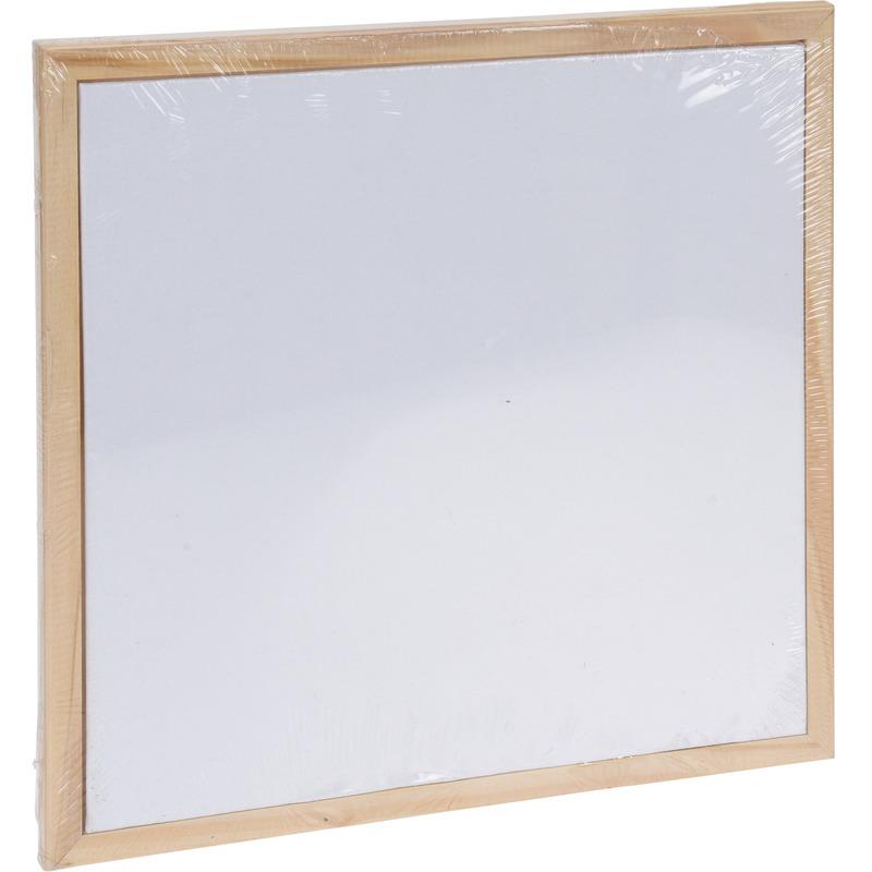 1x Canvas doek met frame-lijst 30x30 cm
