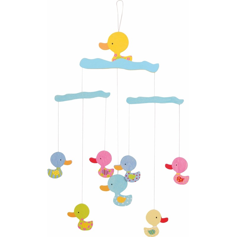 Baby decoratie mobiel met eenden 40 cm Geen Speelgoed diversen