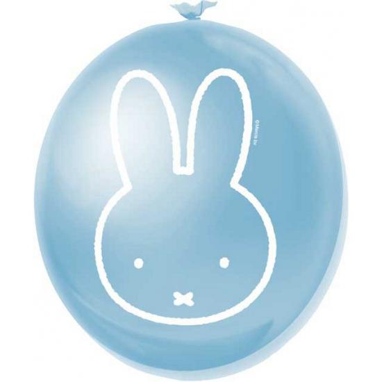 Babyshower Nijntje ballonnen blauw