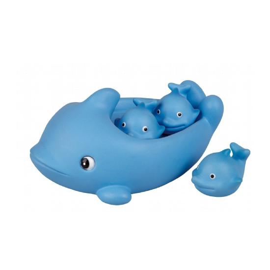Speelgoed diversen Badspeeltjes set dolfijnen