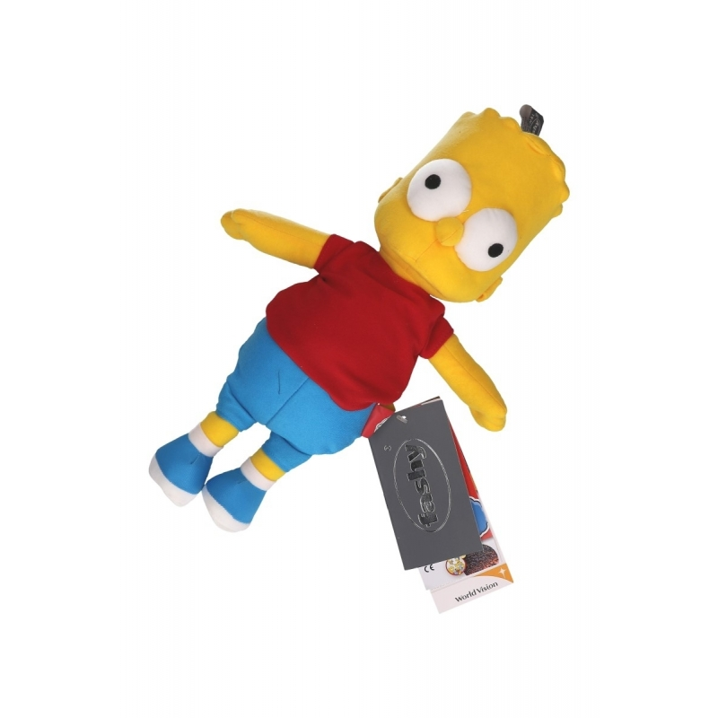 Magnetron knuffels Bart Simpson magnetron knuffel