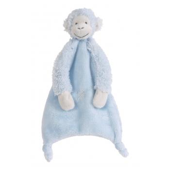 Happy Horse Blauwe tuttel aap 28 cm Baby kado knuffels