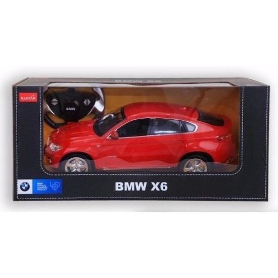 BMW X6 rood radiografisch bestuurbaar 1 14 BMW Speelgoedvoertuigen