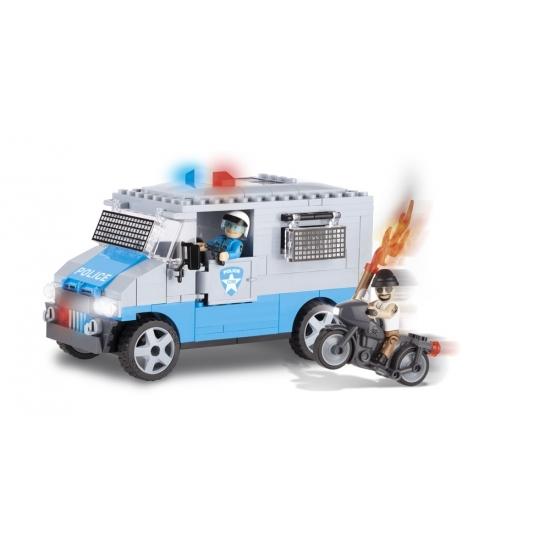 Cobi Cobi politiebus bouwstenen pakket Educatief speelgoed