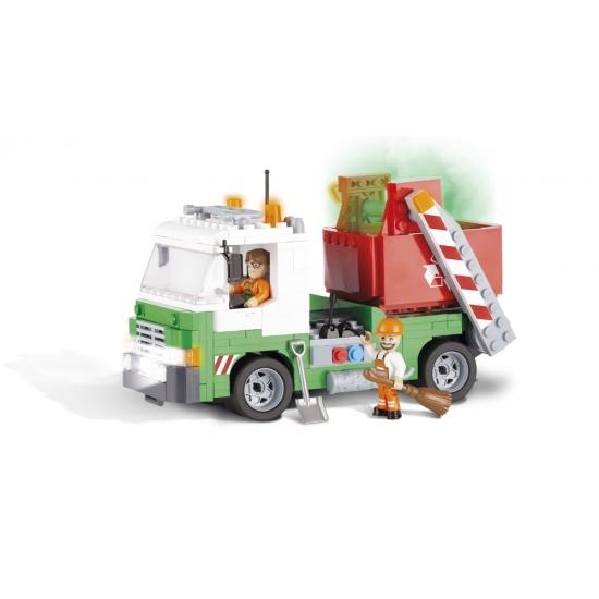 Cobi Cobi vuilniswagen bouwstenen pakket Educatief speelgoed