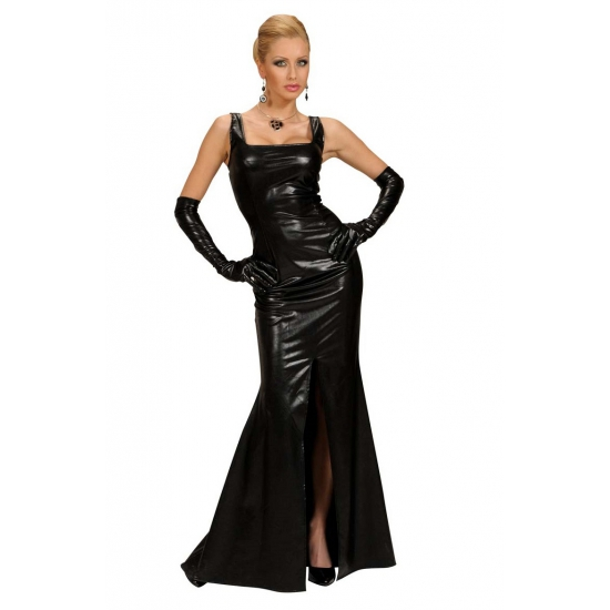 Cocktail jurk voor dames zwart