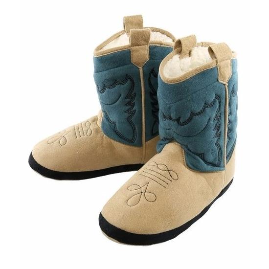 Sloffen en Pantoffels Geen Cowboy pantoffels blauw voor mannen