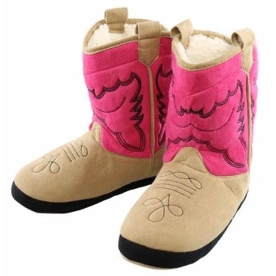 Geen Cowboy pantoffels roze voor meisjes Sloffen en Pantoffels