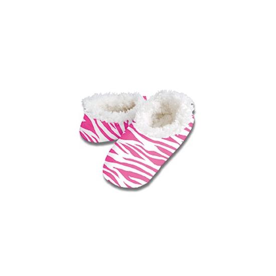 Sloffen en Pantoffels Geen Dierenprint sloffen roze zebra