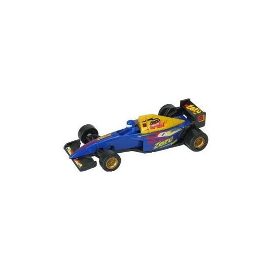 Speelgoedvoertuigen Welly Formule 1 racewagen modelauto blauw