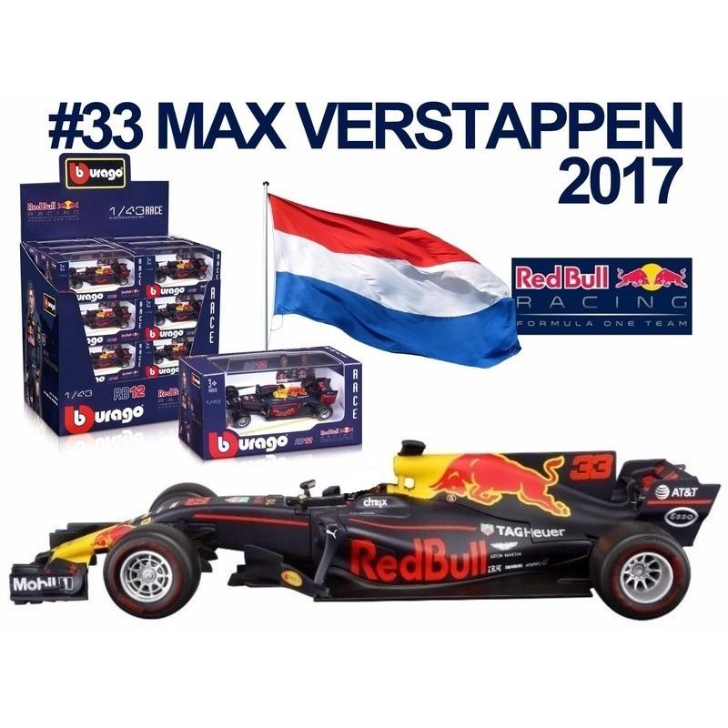 Formule 1 speelgoedwagen Max Verstappen 1 43 Bburago Speelgoedvoertuigen