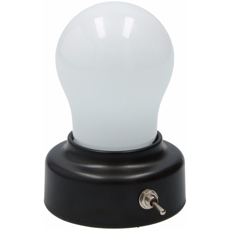 Gloeilamp nachtlampje 11 cm