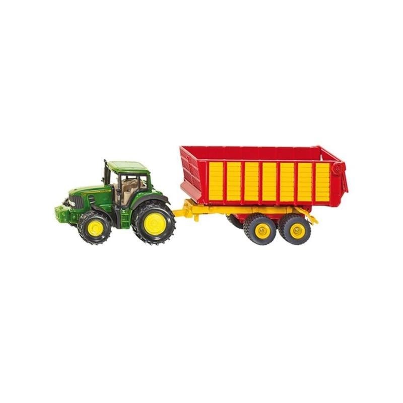 Speelgoedvoertuigen Siku Groene John Deere speel tractor