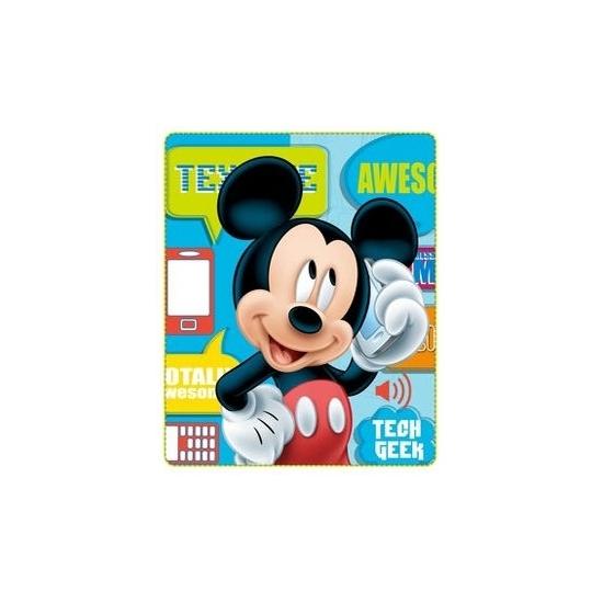 Grote Disney Fleece Deken Mickey