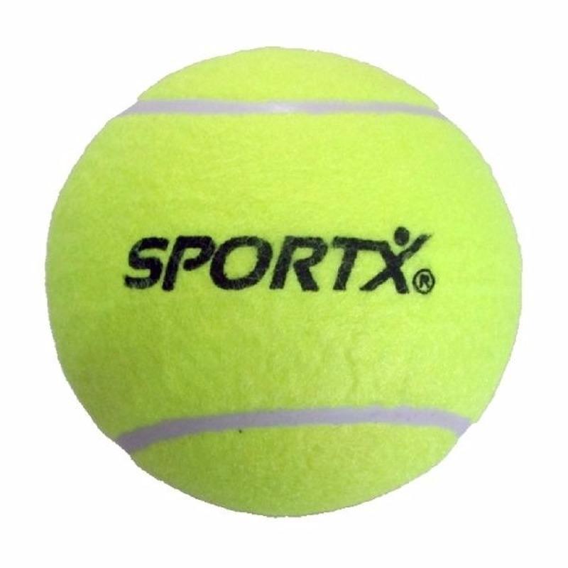 Grote gele tennisbal 13 cm