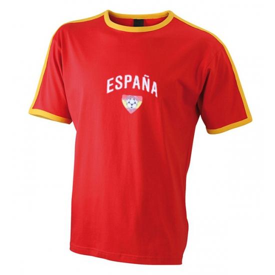 Landen versiering en vlaggen Shoppartners Heren t shirt met Spaanse print