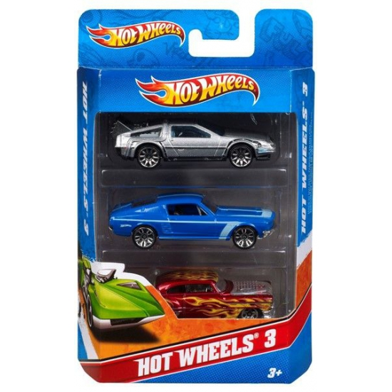 Speelgoedvoertuigen Hot Wheels Hot Wheels race autos 3 stuks
