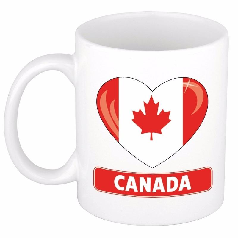 I love Canada mok beker 300 ml Shoppartners goedkoop online kopen