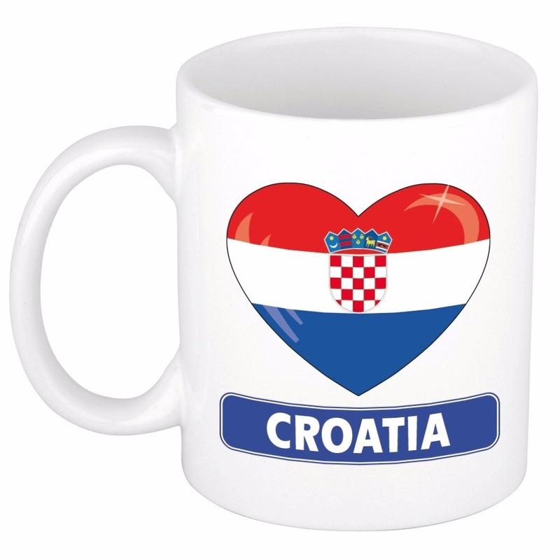 I love Kroatie mok - beker 300 ml