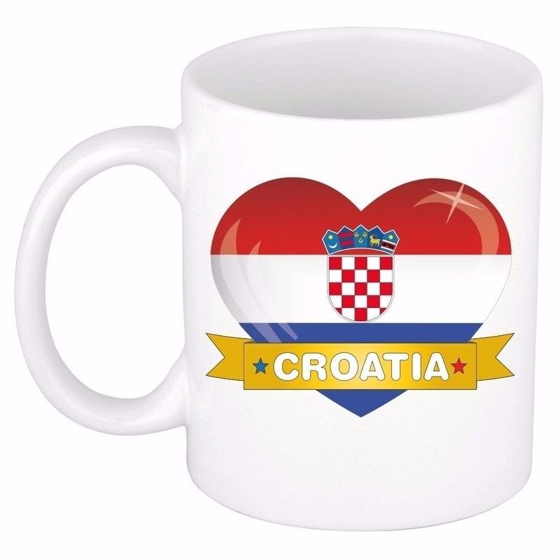 I love Kroatie mok type 2 - beker 300 ml