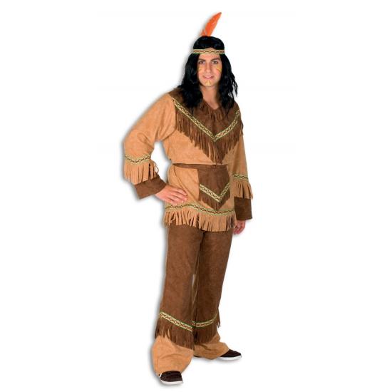 Indianen verkleedkleding voor heren. complete indianen outfit voor heren, inclusief shirt en broek. voor ...