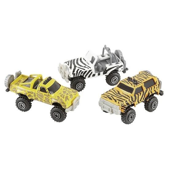 Speelgoedvoertuigen Jeepsafari speelgoed auto zebra print
