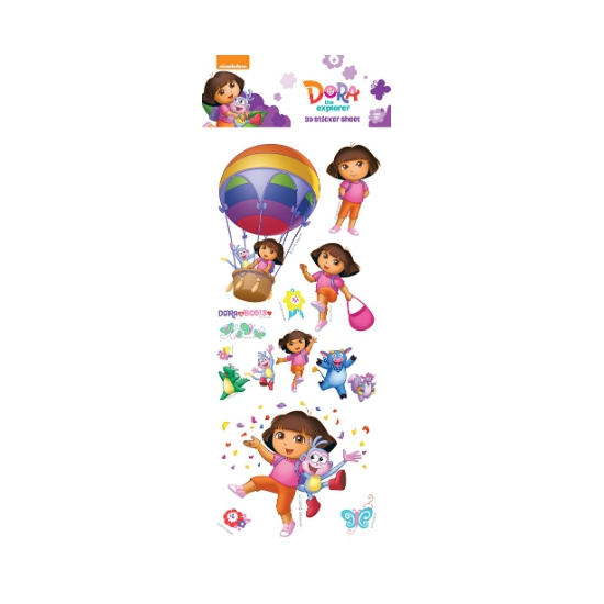 Kinder 3d Stickers Dora