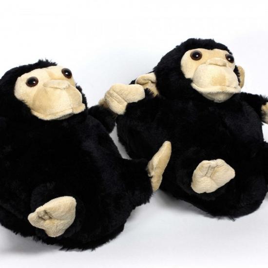 Sloffen en Pantoffels Geen Kinder dieren pantoffels aap