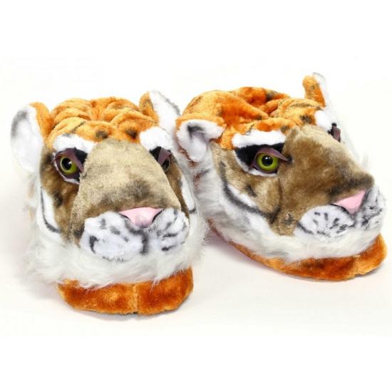 Sloffen en Pantoffels Geen Kinder dieren pantoffels tijger