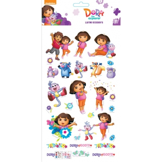 Kinder Stickers Dora Groot