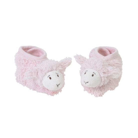 Sloffen en Pantoffels Happy Horse Kraamkado lammetje babyslofjes roze
