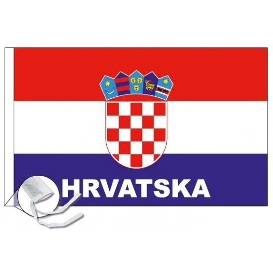 Kroatie voetbal vlag