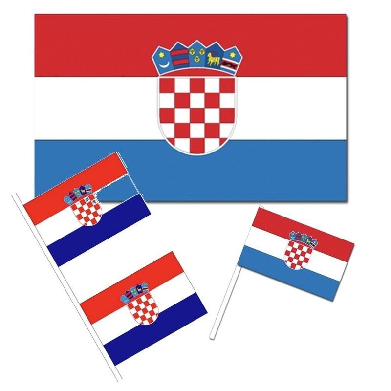 Kroatische decoraties versiering pakket