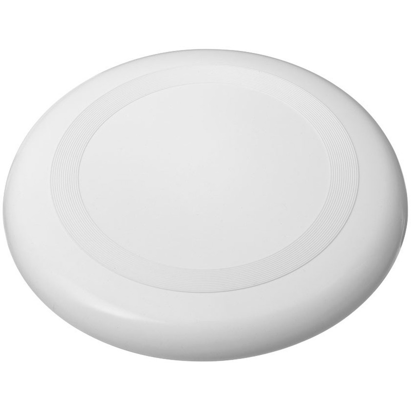 Kunststof witte frisbees