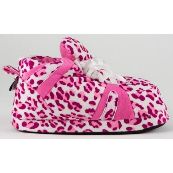Geen Meisjes sportschoen pantoffels luipaard roze Sloffen en Pantoffels