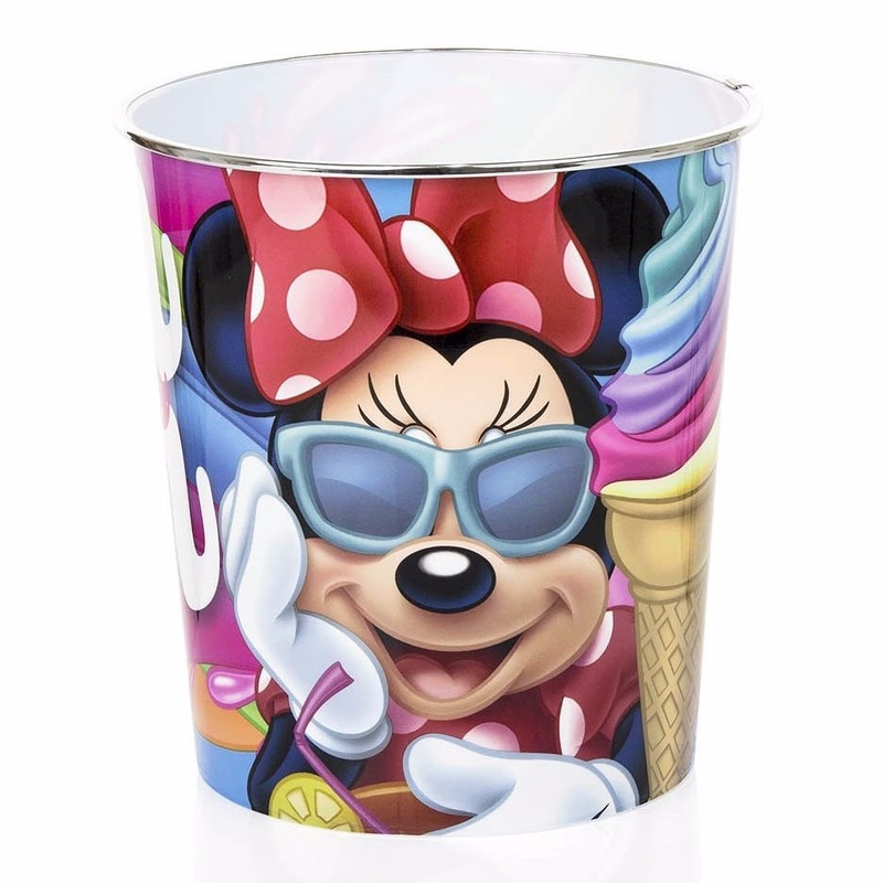 Minnie Mouse Vuilnisbakje Gekleurd