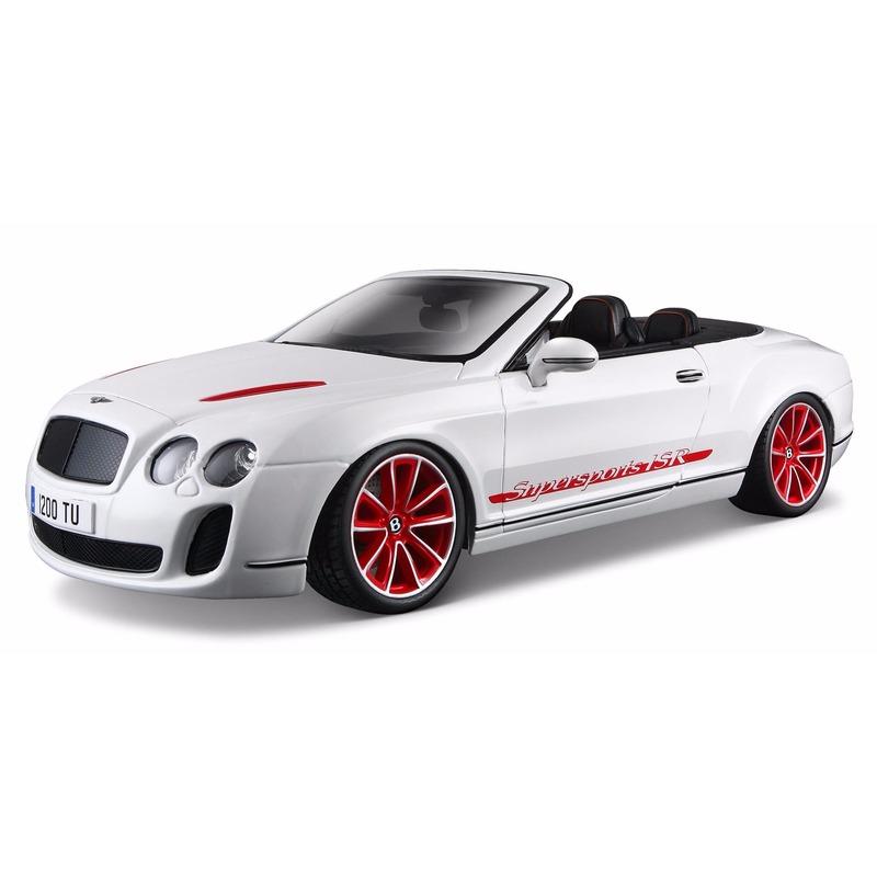 Speelgoedvoertuigen Bburago Model auto Bentley Continental cabrio