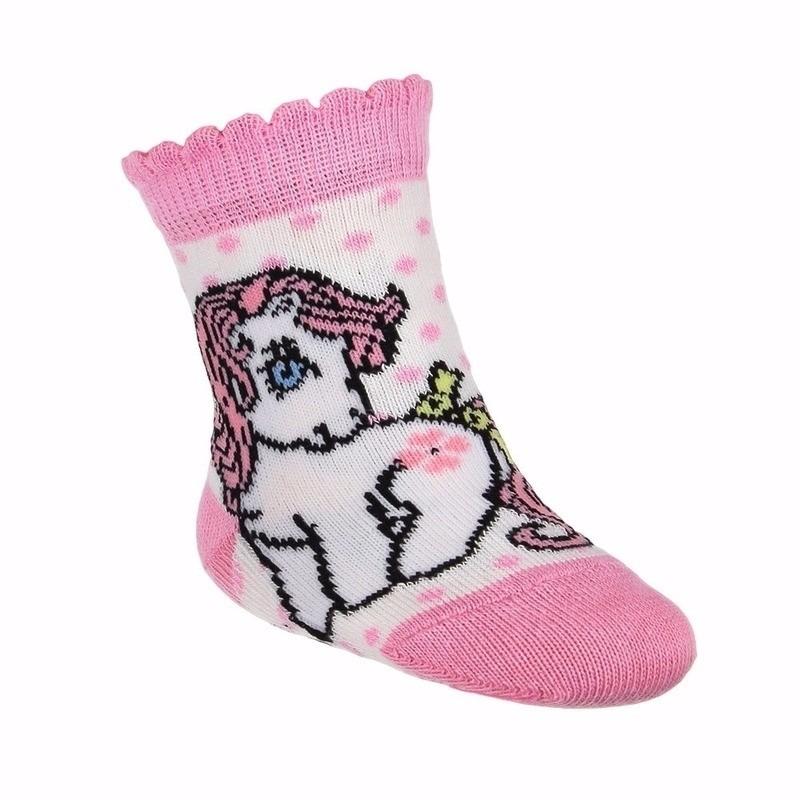 Sokken en Panty's My Little Pony babysokjes wit