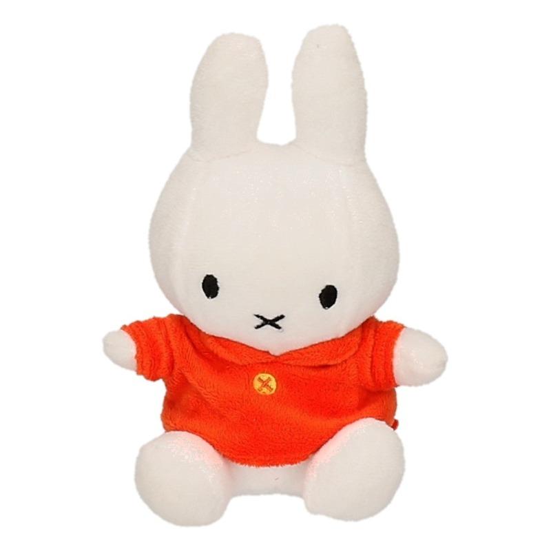 Oranje outfit Nijntje cartoon knuffels 17 cm