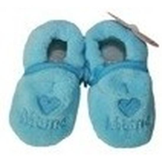 Sloffen en Pantoffels Pantoffels sloffen love mama blauw voor babies