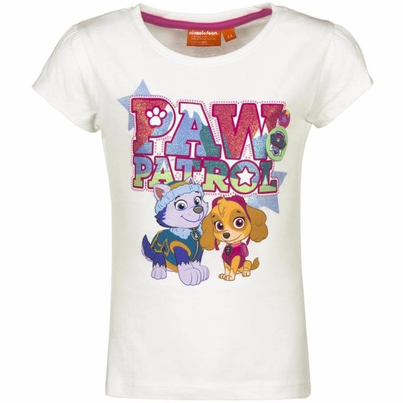 Paw Patrol meisjes t shirt, jongens t shirt folder
