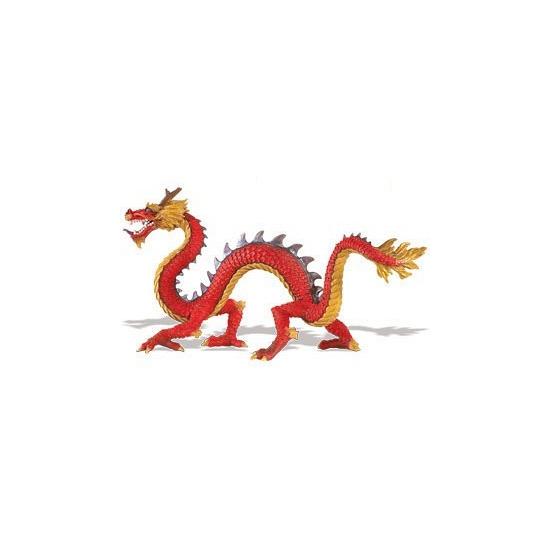 Speelfiguren sets Geen Plastic speelgoed Chinese draak 19 cm