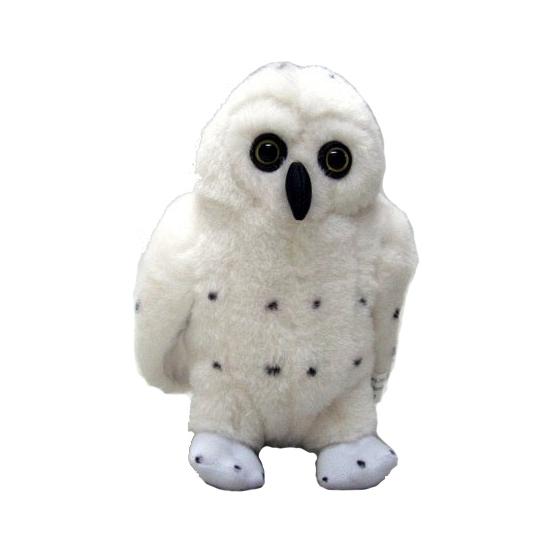 Pluche Knuffel Sneeuwuil 25 Cm