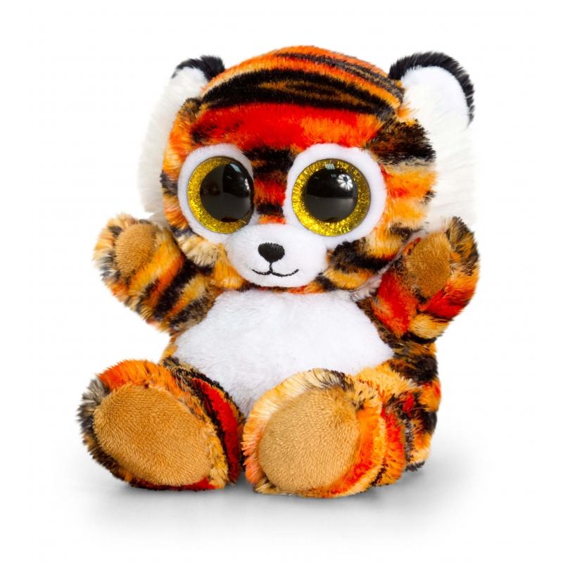 Pluche Knuffeldier tijger 15cm