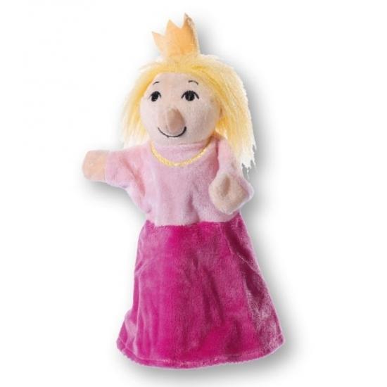Handpoppen Pluche prinsesen handpop 30 cm
