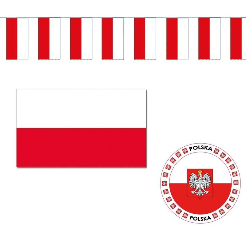 Poolse decoraties versiering pakket Geen Premier